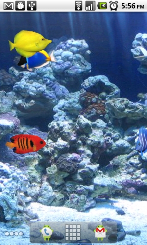 fish tank aquarium live wallpaper for android android blast