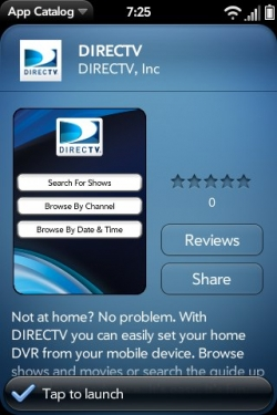 directv blackberry scheduler